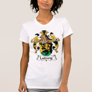 Ludwig Family Crest Tshirts