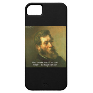 Ludwig Feurbach & Atheist Quote iPhone 5 Case