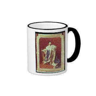 Ludwig II  1887 Ringer Coffee Mug
