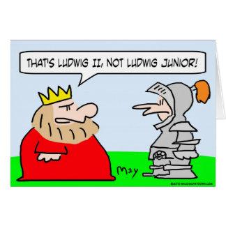 ludwig ii junior king knight card