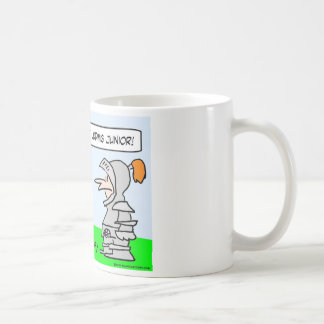 ludwig ii junior king knight coffee mug