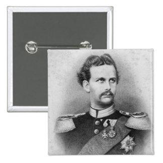 Ludwig II of Bavaria Button