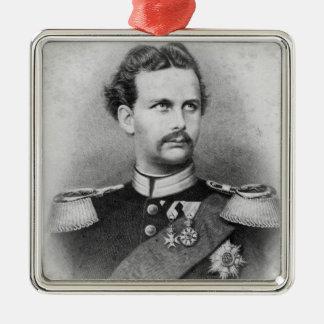 Ludwig II of Bavaria Metal Ornament