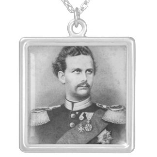 Ludwig II of Bavaria Silver Plated Necklace