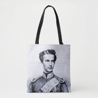 Ludwig II young king Tote Bag