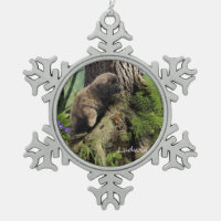 Ludwig the Leonberger Puppy Christmas Ornament
