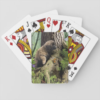 Ludwig the Leonberger Puppy Playing Card