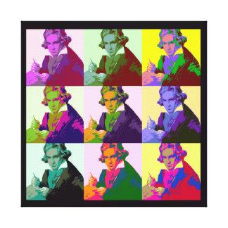 Ludwig Van Beethoven (1712-73) Canvas Print