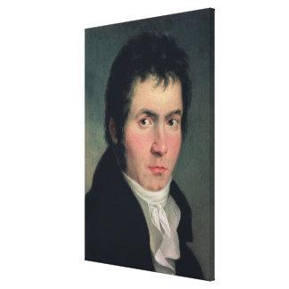 Ludwig van Beethoven , 1804 Canvas Print