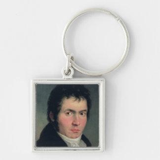 Ludwig van Beethoven , 1804 Keychain
