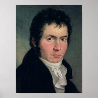 Ludwig van Beethoven , 1804 Poster