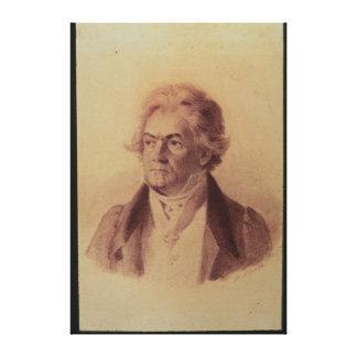 Ludwig van Beethoven , 1824 Canvas Print