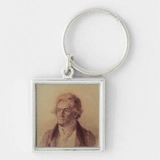 Ludwig van Beethoven , 1824 Keychain