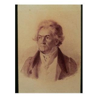 Ludwig van Beethoven , 1824 Postcard