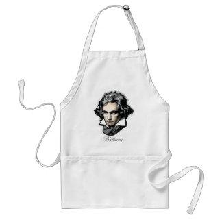 Ludwig van Beethoven Adult Apron