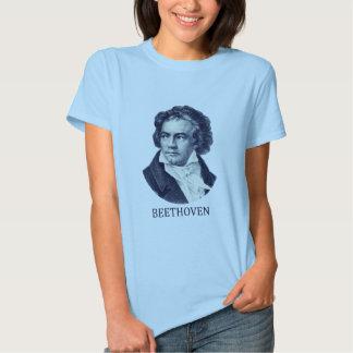 Ludwig van Beethoven, azul Camisas