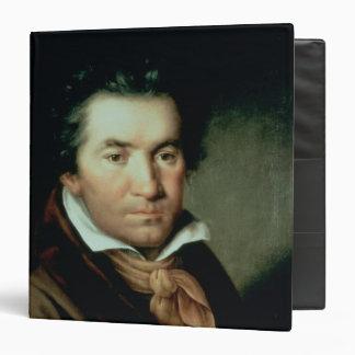 Ludwig van Beethoven 3 Ring Binders