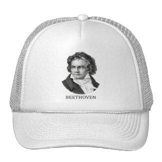 Ludwig van Beethoven, black Trucker Hat