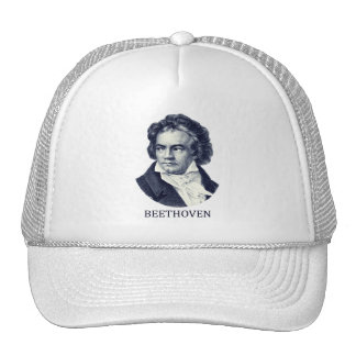 Ludwig van Beethoven, blue Trucker Hat