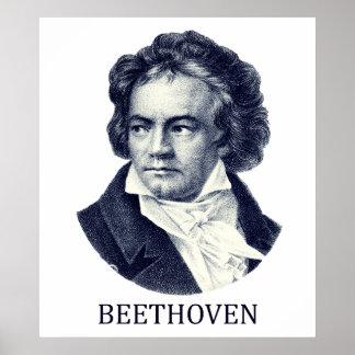 Ludwig van Beethoven, blue Print