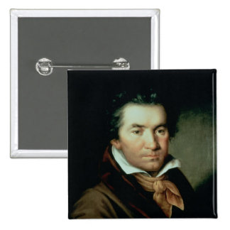 Ludwig van Beethoven 2 Inch Square Button