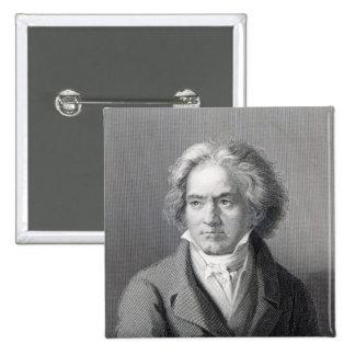 Ludwig van Beethoven Pinback Button