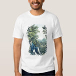 Ludwig van Beethoven by a River (coloured engravin Shirts