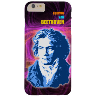 Ludwig van Beethoven Classical Composer Portrait Barely There iPhone 6 Plus Case