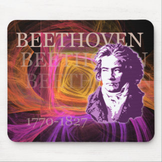 Ludwig van Beethoven Classical Composer Portrait Mouse Pad