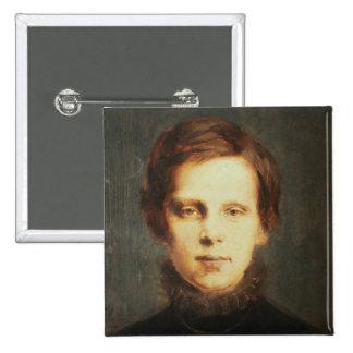Ludwig van Beethoven, compositor alemán Pin Cuadrado