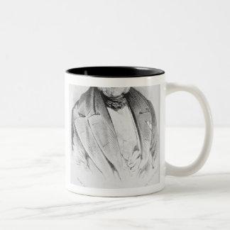 Ludwig van Beethoven & Francois-Antoine Habeneck Two-Tone Coffee Mug