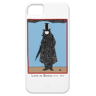 Ludwig van Beethoven iPhone 5 Barely There Case iPhone 5 Cover