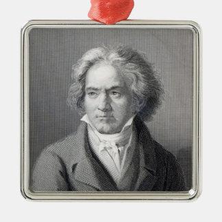 Ludwig van Beethoven Metal Ornament