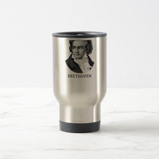 Ludwig van Beethoven, negro Taza De Café