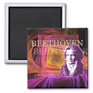 Ludwig van Beethoven Pop Art Portait Magnet