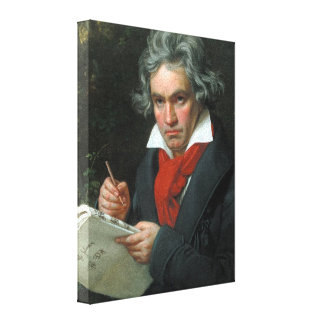 Ludwig van Beethoven Portrait Canvas Print