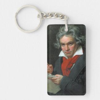 Ludwig van Beethoven Portrait Keychain