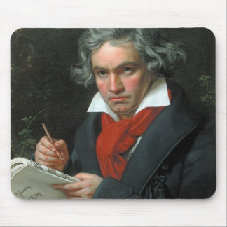 Ludwig van Beethoven Portrait Mouse Pad