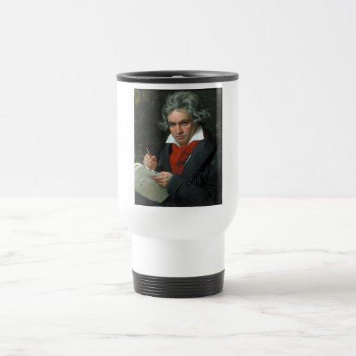 Ludwig van Beethoven Portrait Coffee Mugs