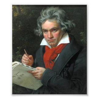 Ludwig van Beethoven Portrait Photo Art