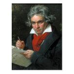Ludwig van Beethoven Portrait Post Cards