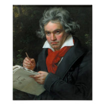 Ludwig van Beethoven Portrait