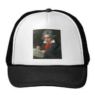 Ludwig van Beethoven Portrait Trucker Hat