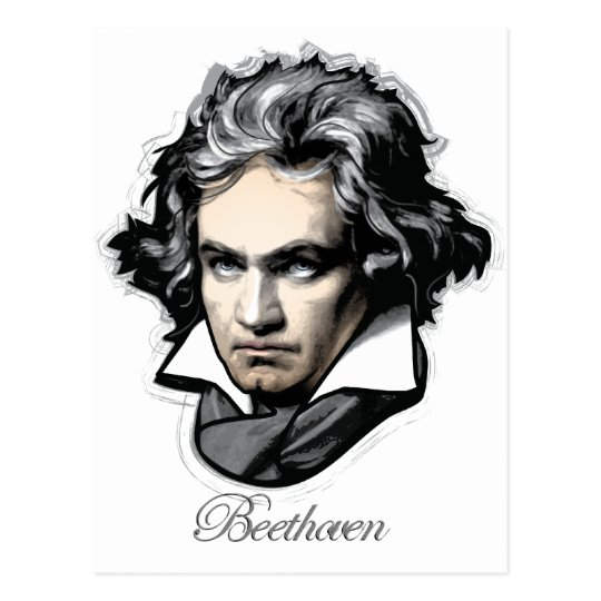 Ludwig van Beethoven Postcard