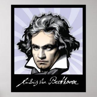 Ludwig van Beethoven print