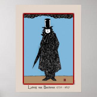 """Ludwig van Beethoven"" Poster"