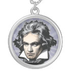 Ludwig Van Beethoven Silver Plated Necklace