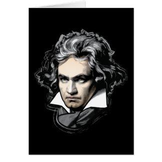 Ludwig van Beethoven Tarjeta De Felicitación
