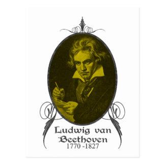 Ludwig van Beethoven Tarjeta Postal