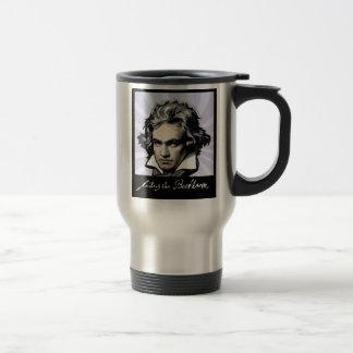 Ludwig van Beethoven Taza De Viaje De Acero Inoxidable